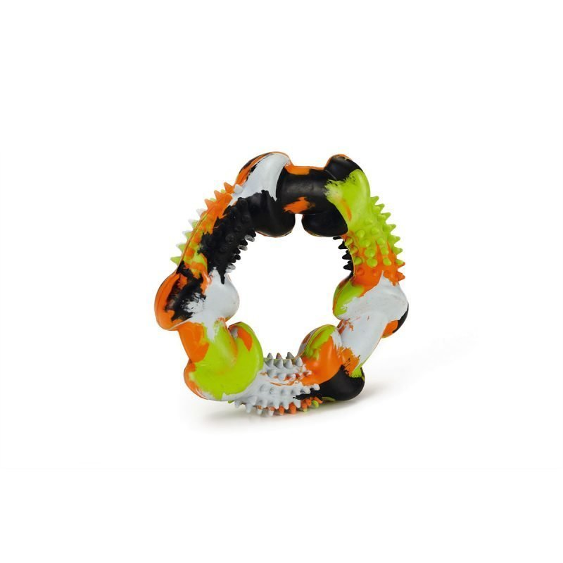 Beeztees Artino koiran renkaan muotoinen kumilelu