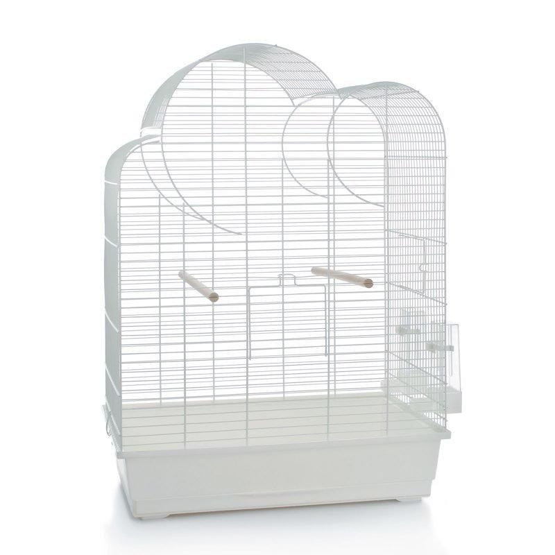 Beeztees Big Eliza lintuhäkki valkoinen 54 x 34 x 75