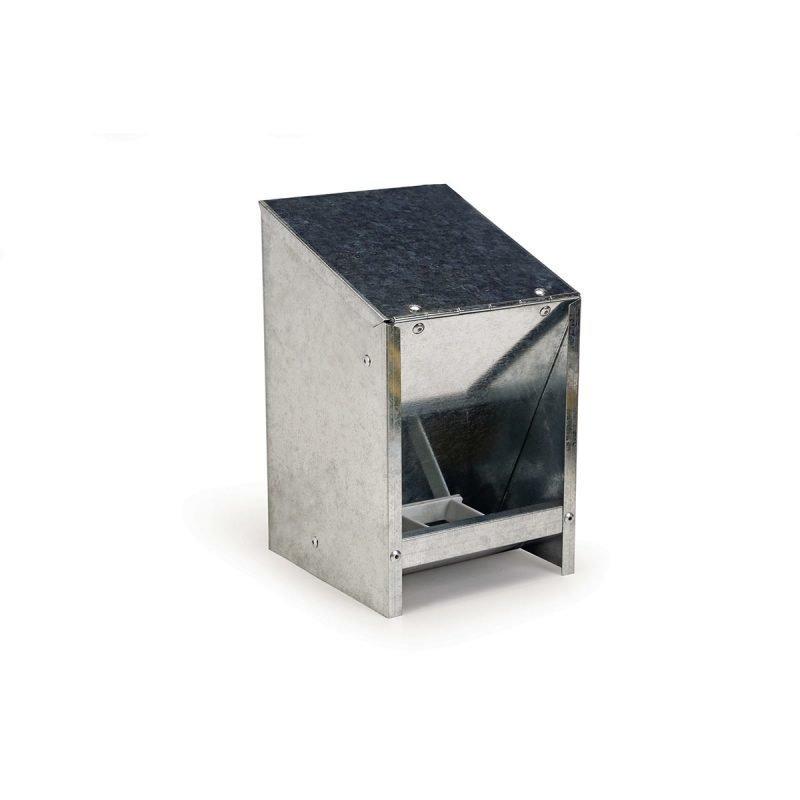 Beeztees Metal automaattinen syöttölaite kannella 2