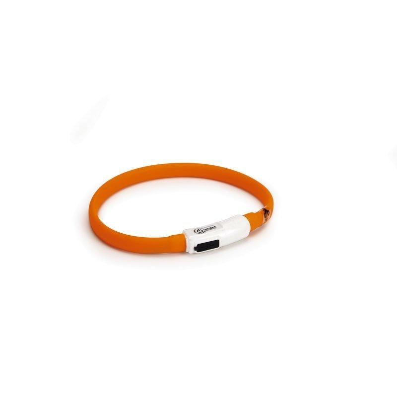 Beeztees Safety Gear Catini silikonikaulapanta USB-liittimellä