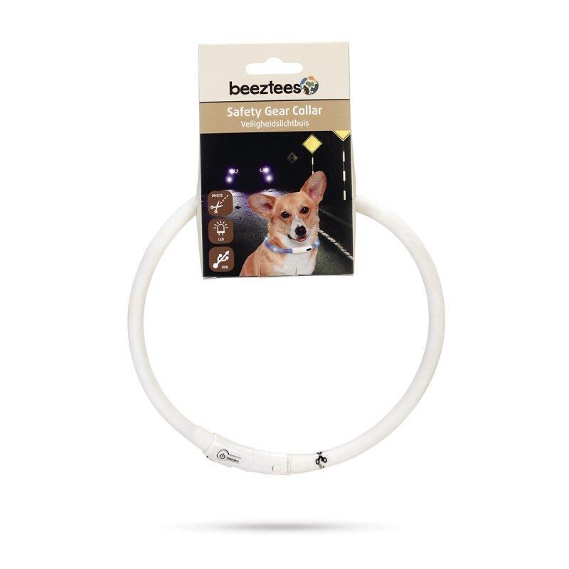 Beeztees Safety Gear Dogini silikonikaulapanta USB-liittimellä