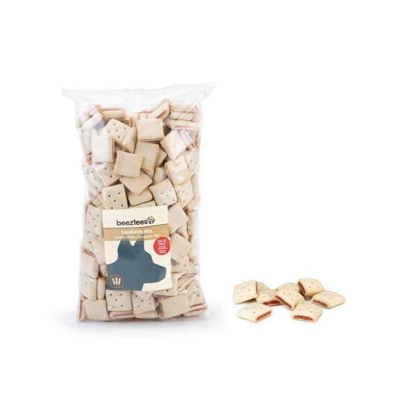 Beeztees Sandwichmix koirankeksisekoitus 1400 grammaa