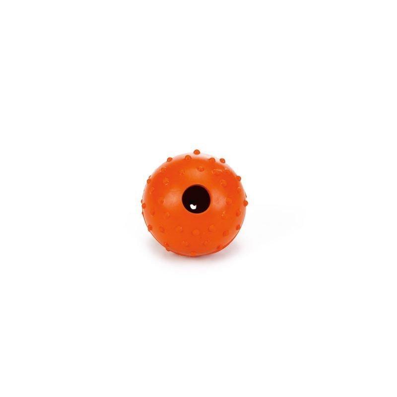 Beeztees kiinteä kumipallo kulkusella 5 cm