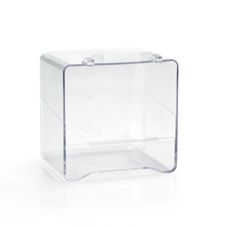 Beeztees lintujen kylpyamme täysin läpinäkyvä 14x11x13