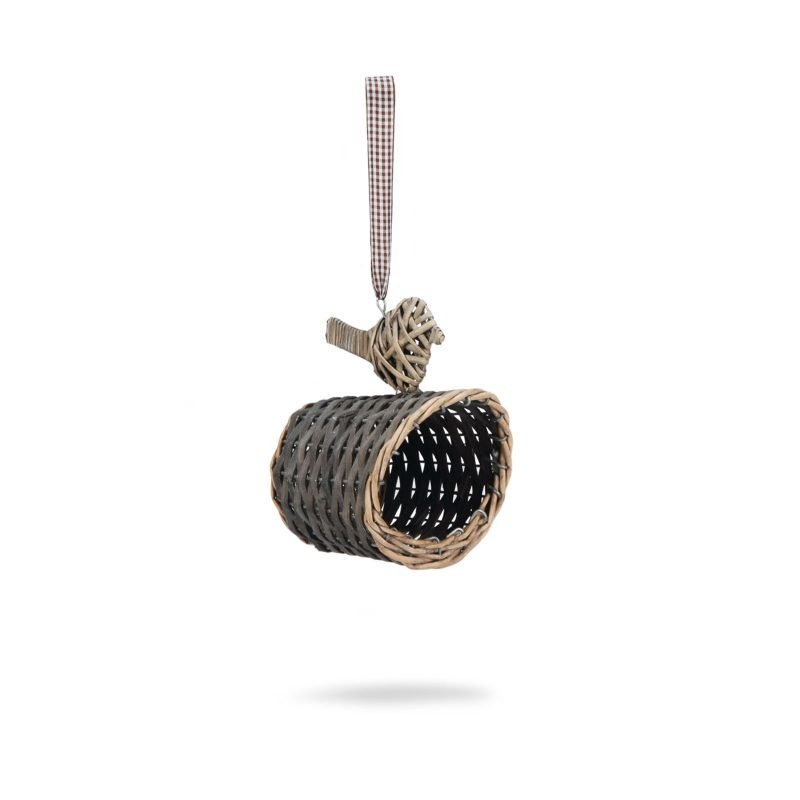Beeztees puinen teline maapähkinävoipatukalle pajupuuta