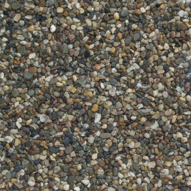 Beeztees tumma akvaariohiekka 3-6 mm 8 kg