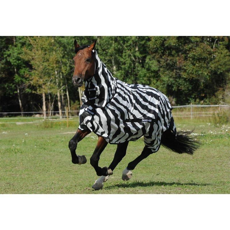 Bucas Buzz-Off Zebra kaulakappaleella