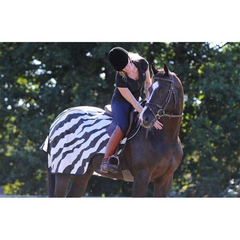Bucas ratsastusloimi Zebra