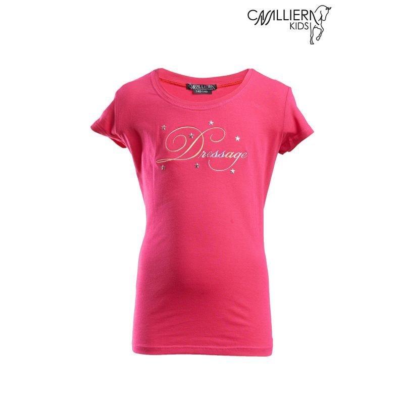 Cavalliera Kids DRESSAGE KIDS lyhythihainen paita