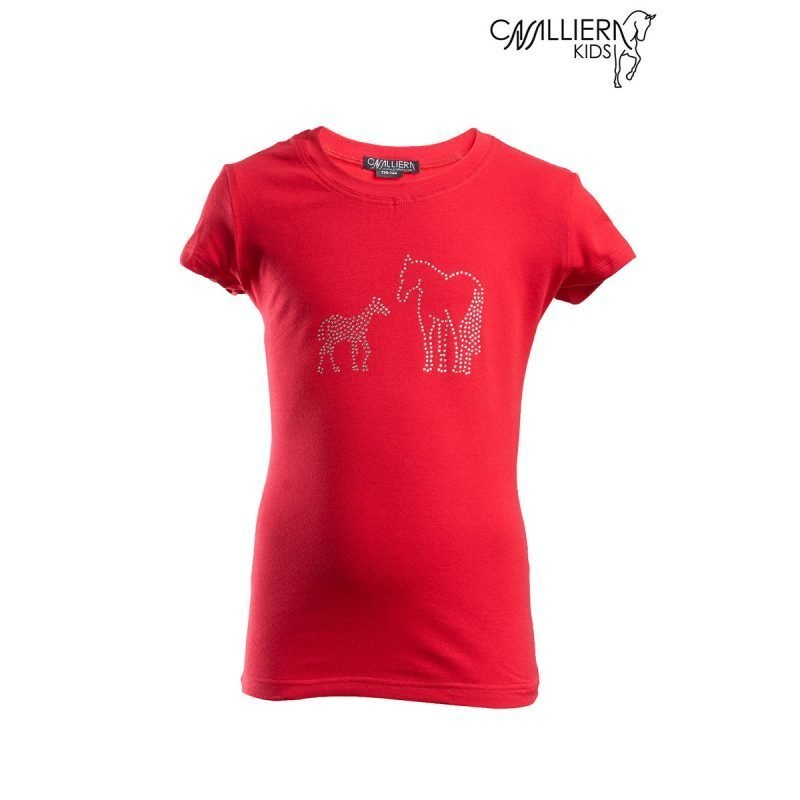 Cavalliera Kids MINI lyhythihainen paita