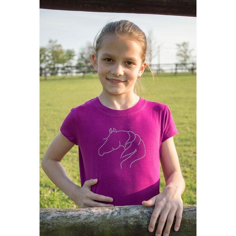 Cavalliera Kids NEON PONY lyhythihainen paita
