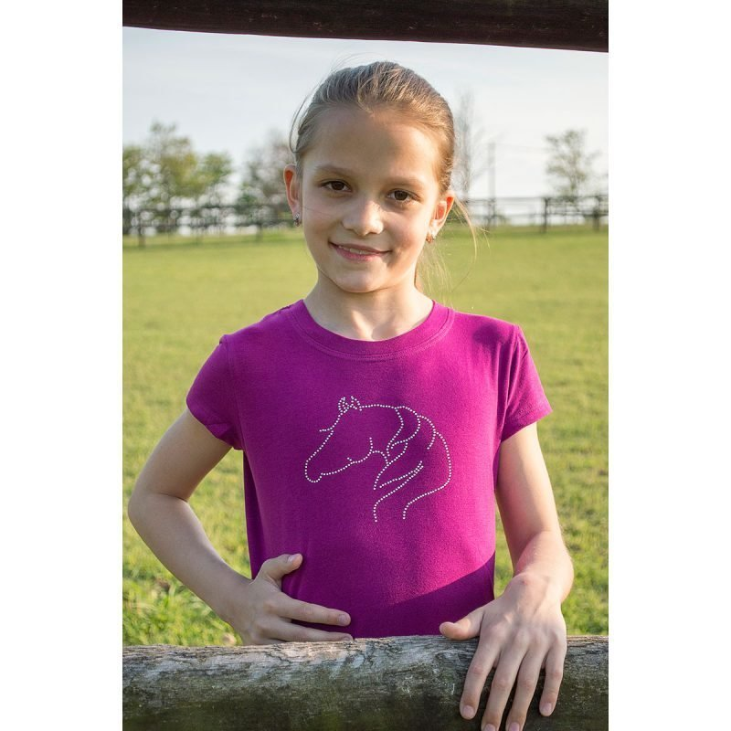 Cavalliera Kids NEON PONY pitkähihainen paita
