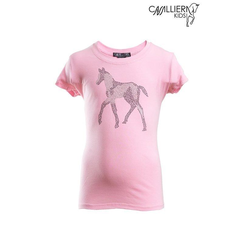 Cavalliera Kids SPARKLE lyhythihainen paita