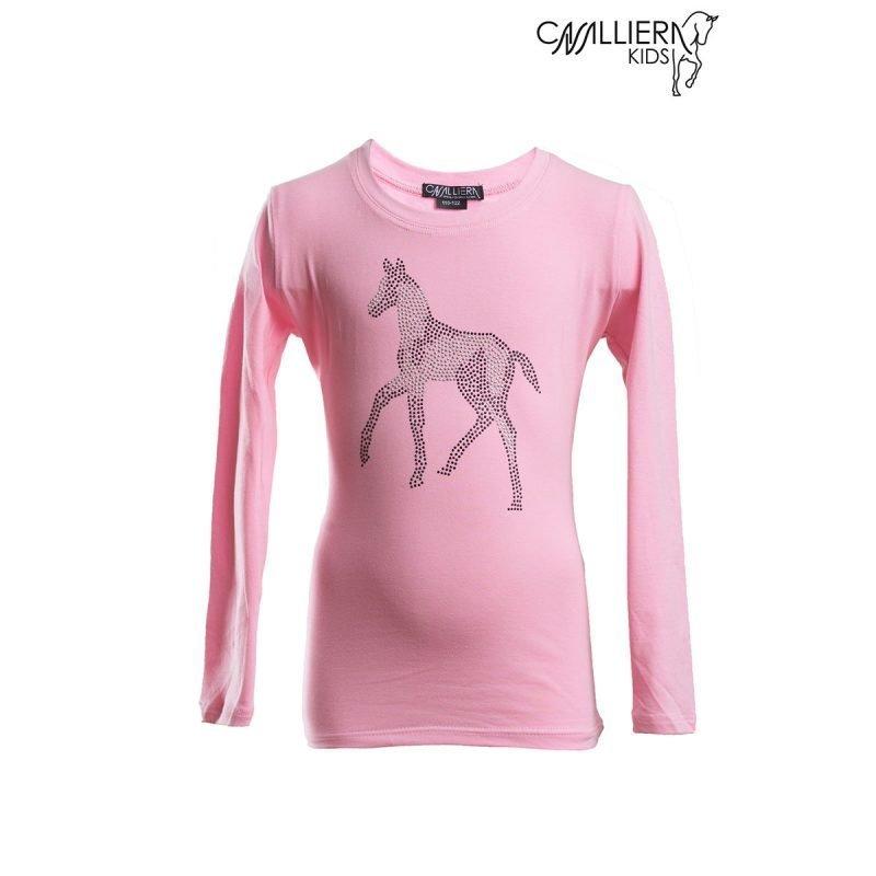 Cavalliera Kids SPARKLE pitkähihainen paita