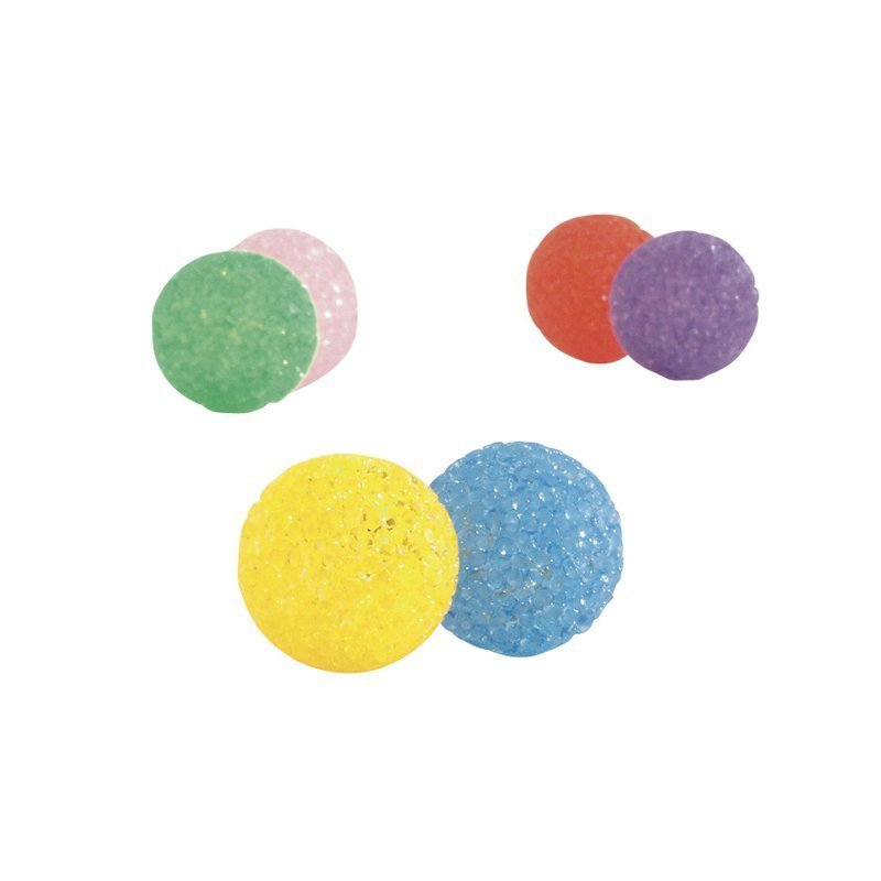 Glitter pallo värilajitelma 2 kpl 4  cm