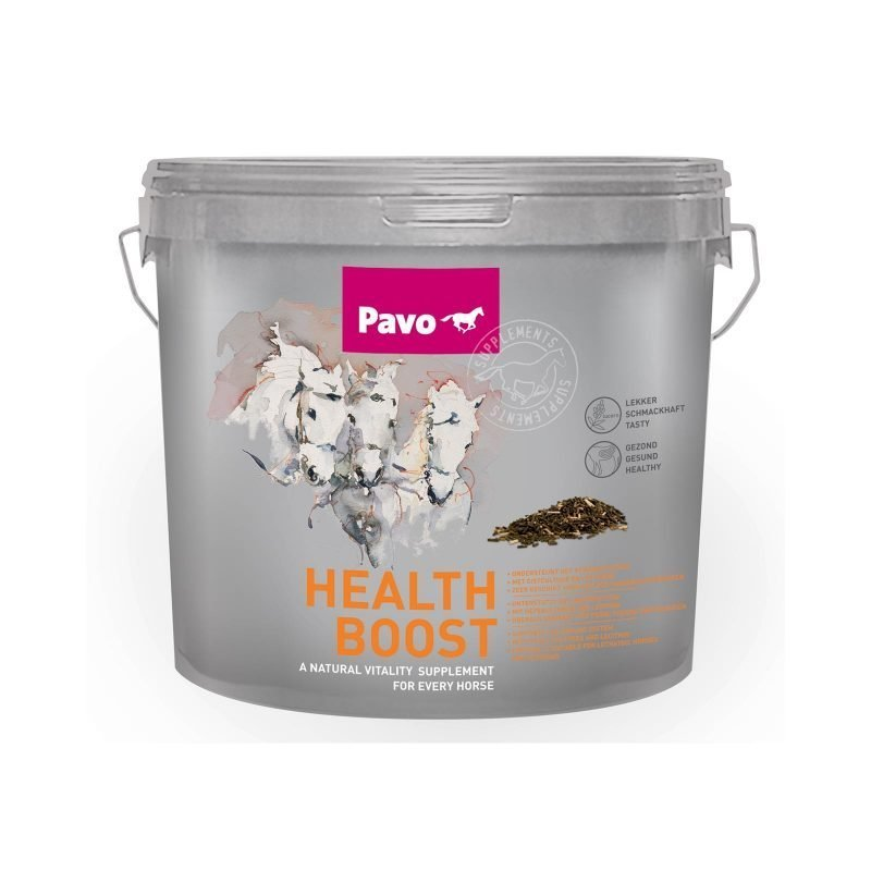 HealthBoostLuonnollinen terveysravinne kaikille hevosille