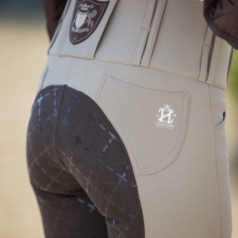 Horze Crescendo Desiree naisten kokopaikkaiset ratsastushousut