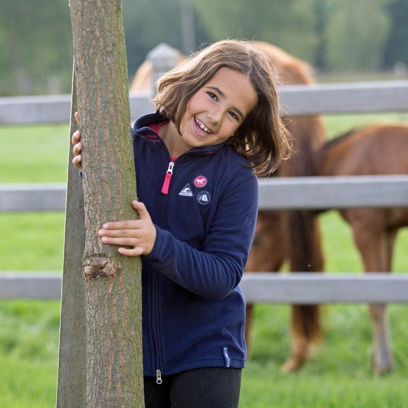 Horze Kids & Ponies Evan kevyt fleecetakki