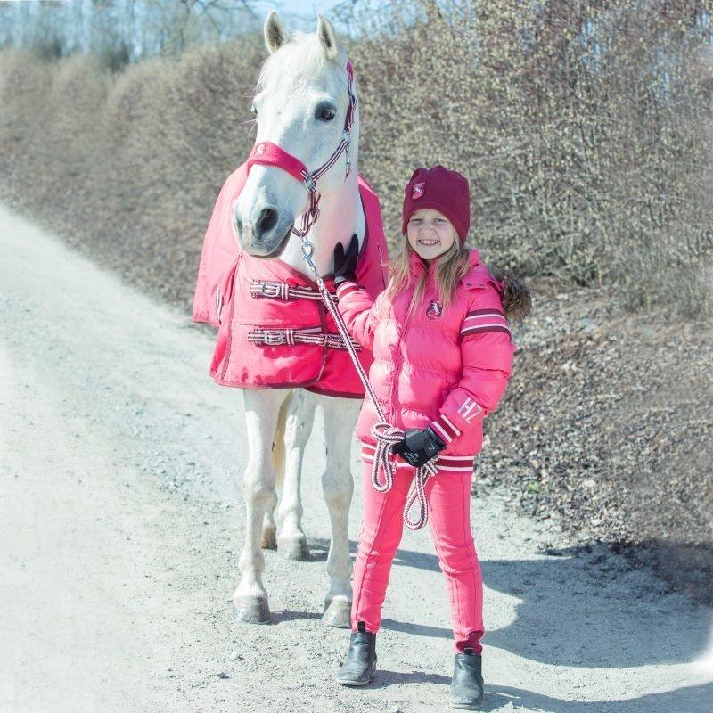 Horze Kids & Ponies Jen lasten kangaspaikkaiset ratsastushousut