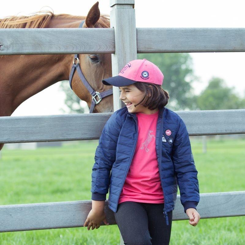 Horze Kids&Ponies Jordan kevyt toppatakki