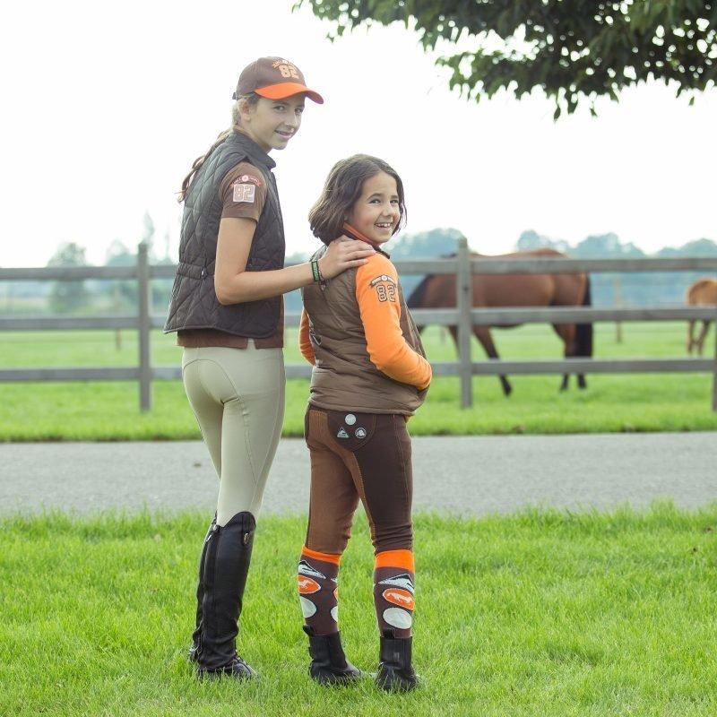 Horze Spirit Active lasten polvipaikkaiset ratsastushousut