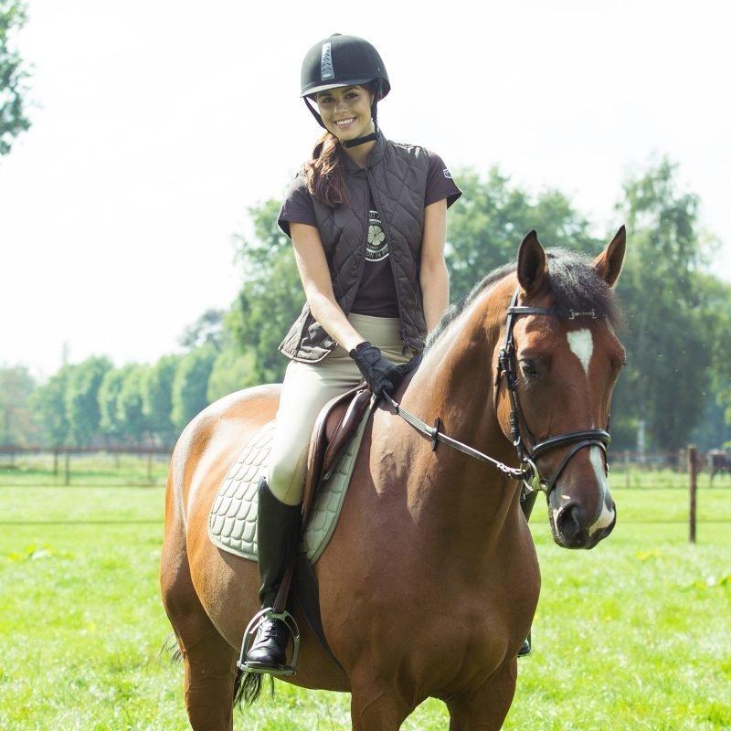 Horze Spirit Active naisten polvipaikkaiset ratsastushousut