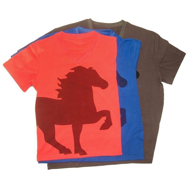 Karlslund t-paita hevosen kuvalla