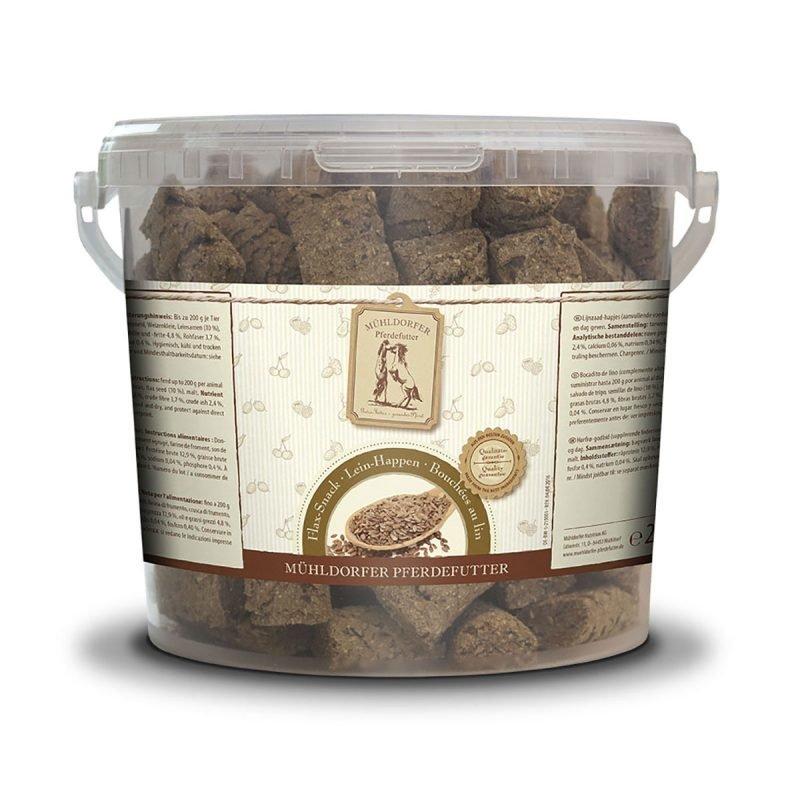 Mühldorfer Flax-snacks makupalat 2 kg