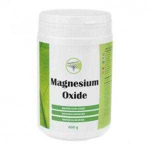 Magnesium Oxide 600g Lisäravinne