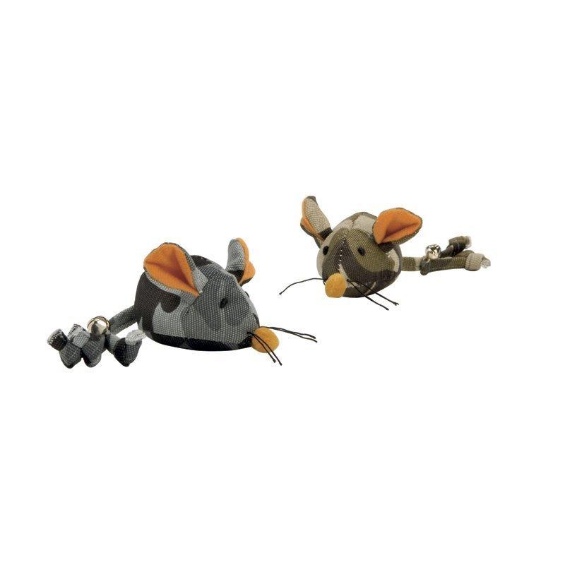 Nylon hiiri naamioitu värilajitelma 15 cm x 5 cm