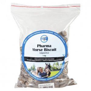 Pharmacare Horse Biscuit 1 Kg Liquorice