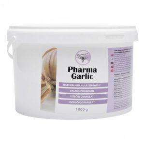 Pharmacare Valkosipulirouhe 1kg Pharma Garlic