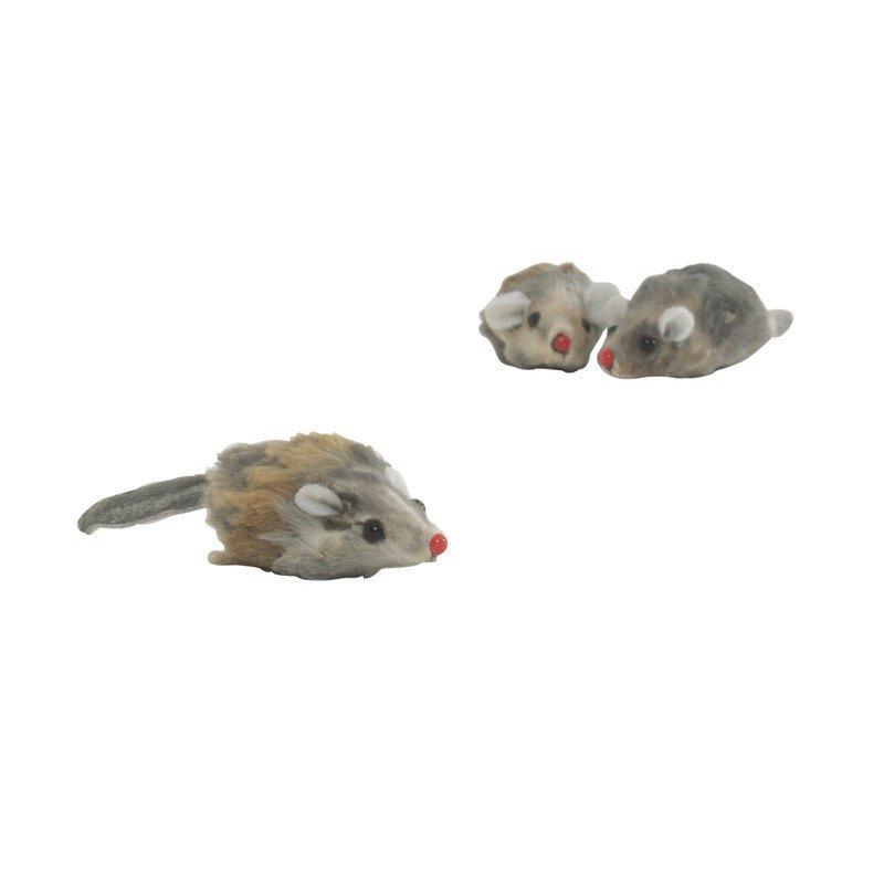 Plyysi hiiri lyhyt karva 5 cm