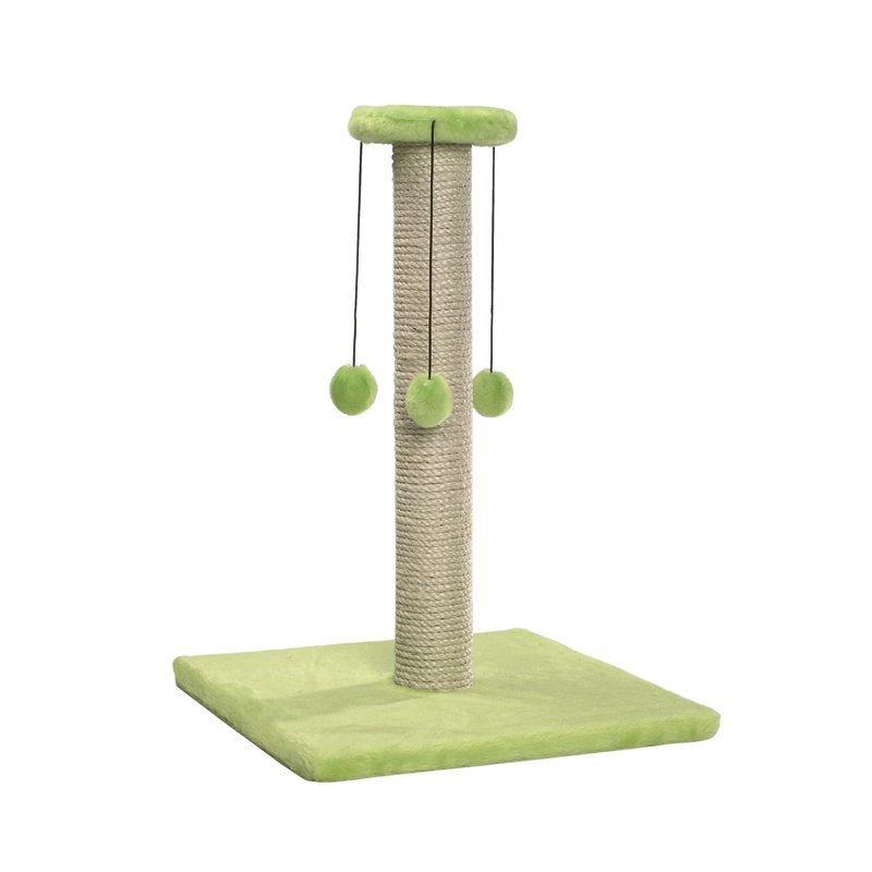 Raapimispuu N´joy vihreä 38  cm x 38  cm x 53  cm