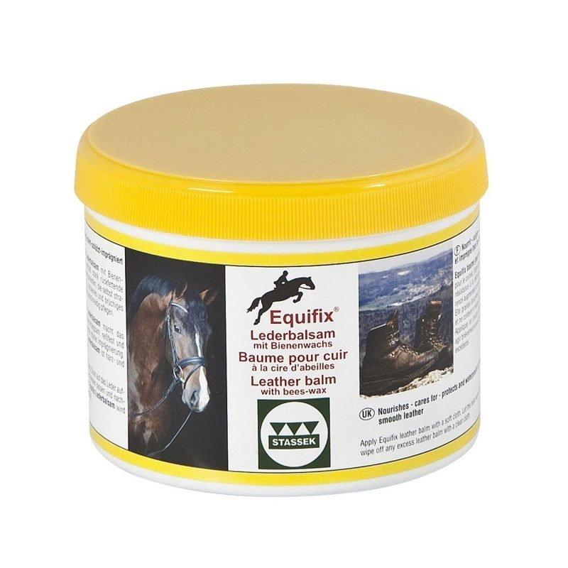 Stassek Equifix mehiläisvahaa sisältävä nahan hoitoaine 500 ml