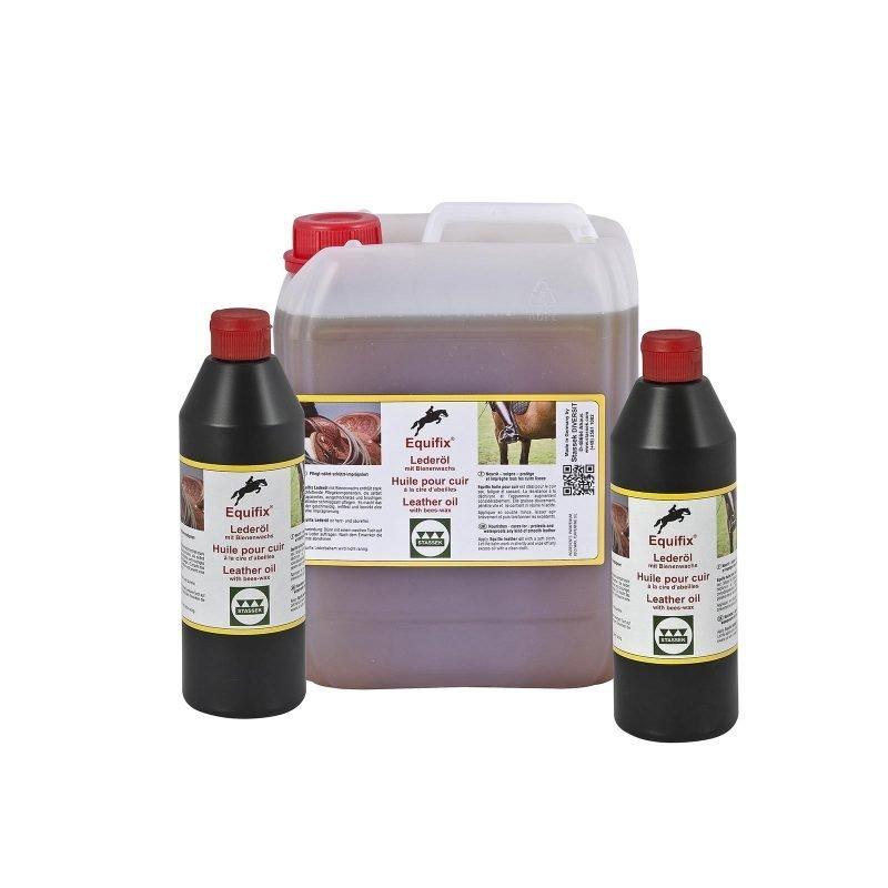Stassek Equifix mehiläisvahaa sisältävä nahkaöljy 5 litraa
