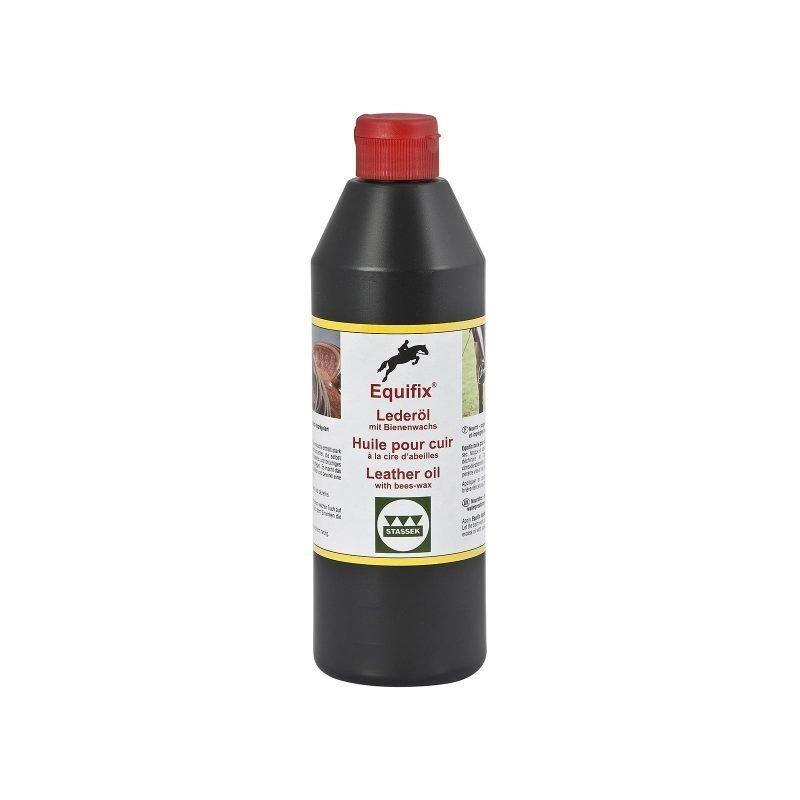 Stassek Equifix mehiläisvahaa sisältävä nahkaöljy 500 ml