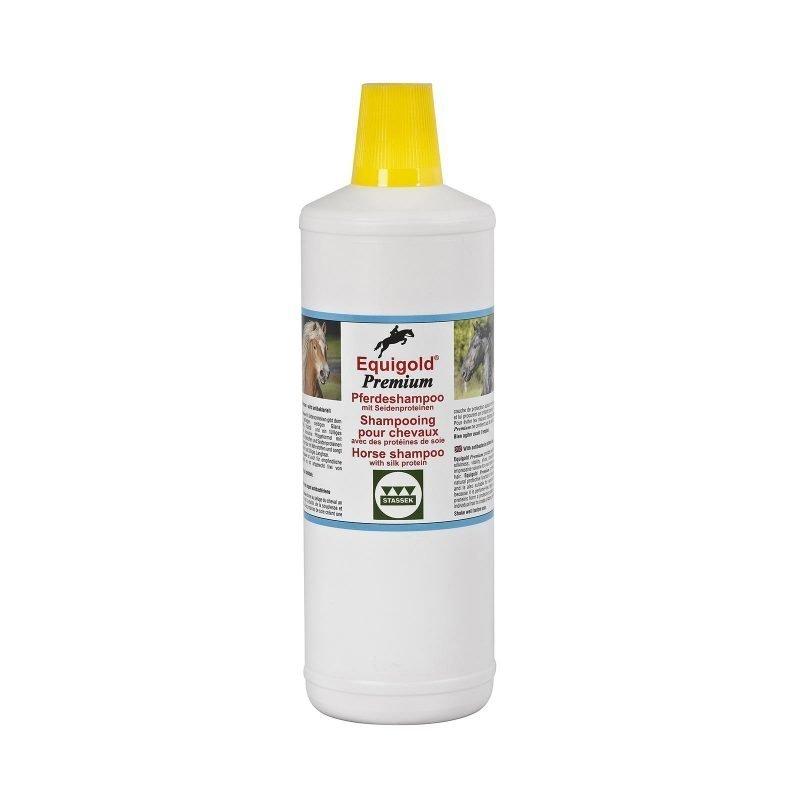 Stassek Equigold Premium hevosen shampoo 1 litra