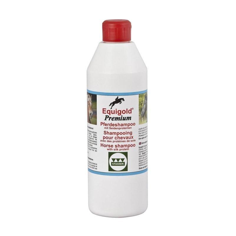 Stassek Equigold Premium hevosen shampoo 500 ml