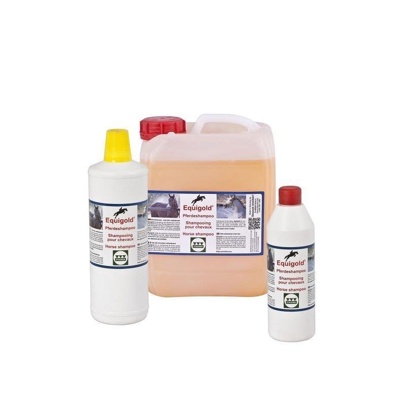 Stassek Equigold Standard hevosen shampoo 5 litraa