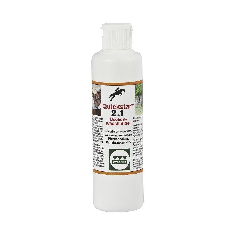 Stassek Quickstar 2.1 Premium pesuaine loimille ja satulahuoville 250 ml