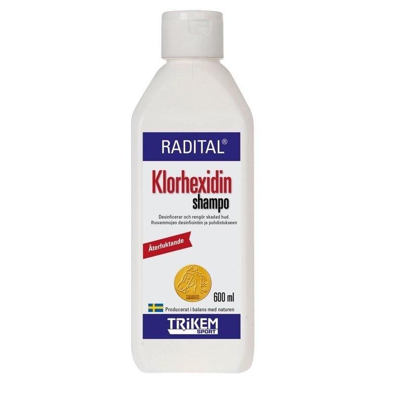 Trikem Radital Klooriheksidiini shampoo 600g