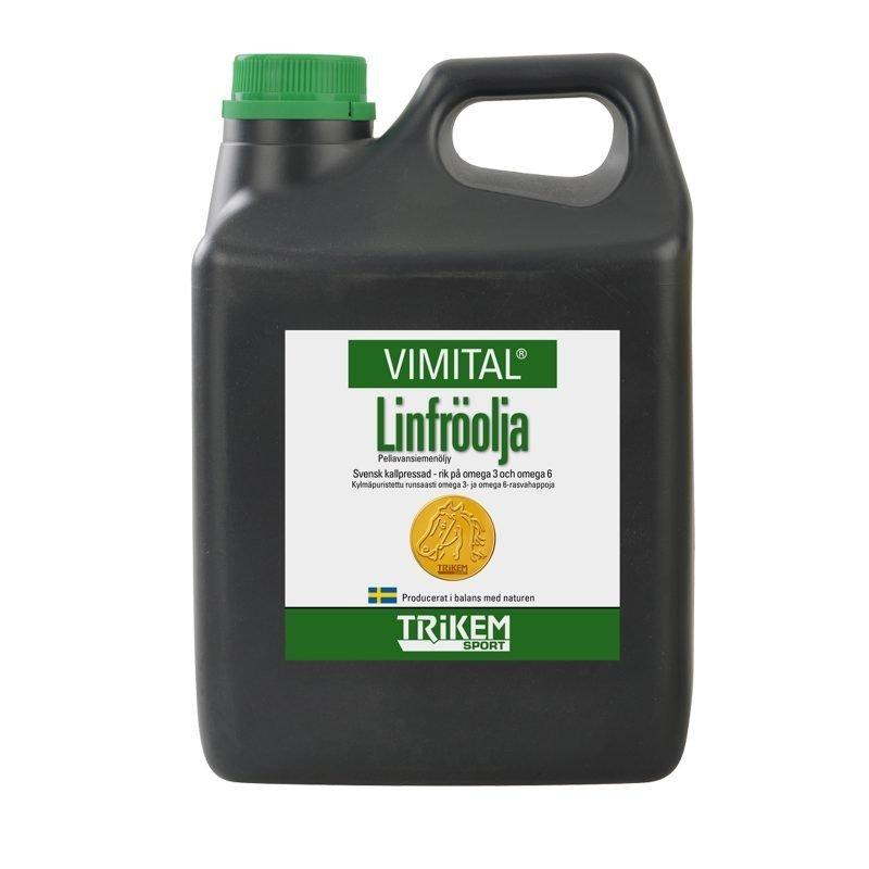 Trikem Vimital Pellavansiemenöljy 2500 ml