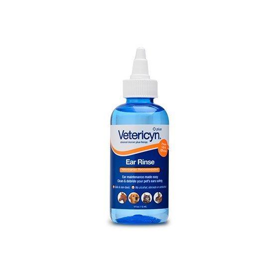Vetericyn® Plus korvahuuhtelu kaikille eläimille 120 ml korvatipat